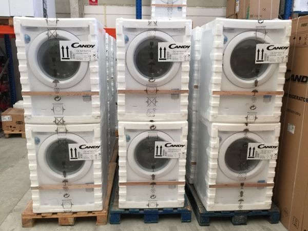 New washing machine packed from the factory!